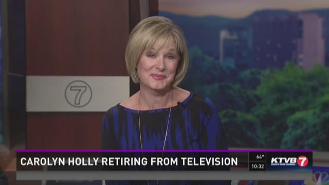 Carolyn Holly retiring from television