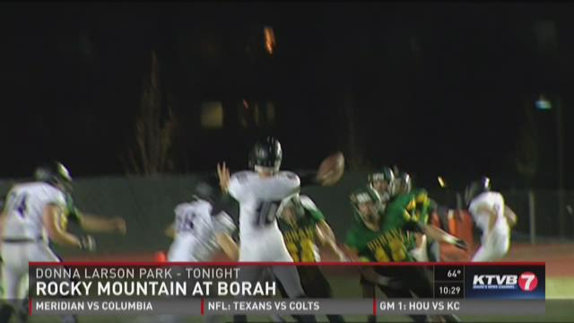 Week 7: Rocky Mountain at Borah