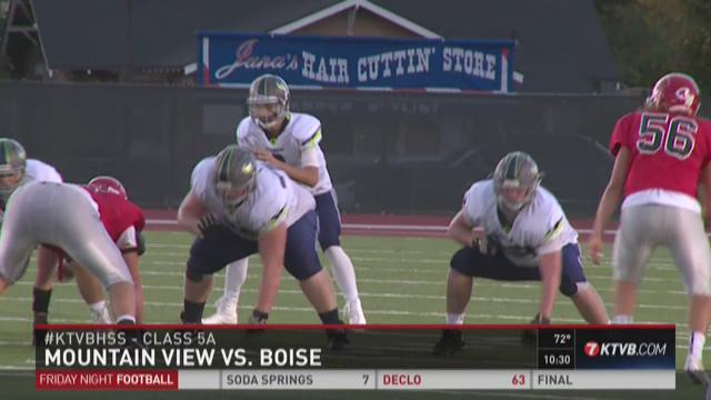 Week 7: Mountain View at Boise