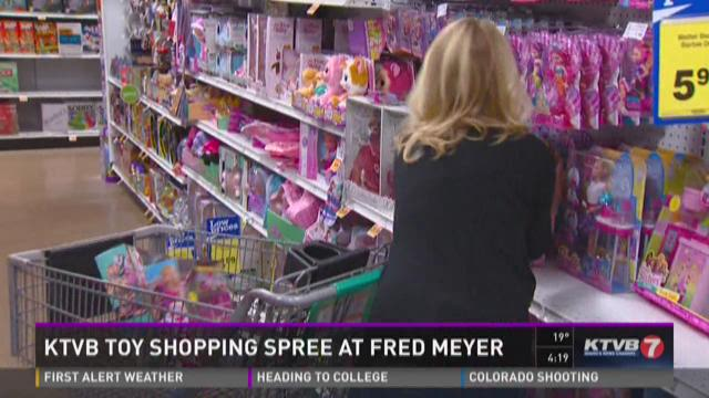 KTVB Toy Shopping Spree at Fred Meyer